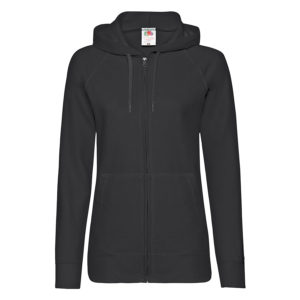 "Толстовка без начеса ""Ladies Lightweight Hooded Sweat"""